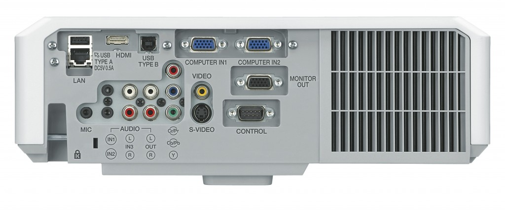 Hitachi CP-X4014WN Rear
