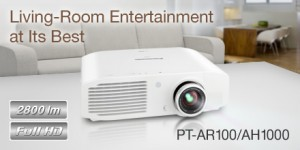 Projector Panasonic PT-AR100 [AR100EA] Full HD Home Theater